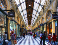 The Royal Arcade, one of Melbourne's many laneways. Photo: Matthew70, flickr