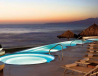 Grand Velas Sunset Deck at Riviera Nayarit Resort