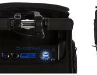 Modobag ride aboard luggage.