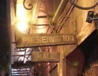 New Orleans jazz can be heard nightly (kids welcome) at Preservation Hall in the French Quarter.