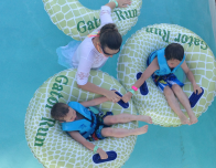Gator Run lazy river at Cool Zoo in New Orlean's beautiful Audobon Zoo.