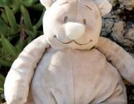 At Noukie's, yu'll find their beloved teddy bear Nouky.