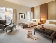 Family rooms welcome kids to the luxurious Langham Place New York.