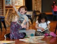 Mini Mates is the summer nursery program at South Street Seaport Museum.