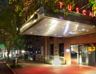 The Tuscany Hotel is on a quiet Murray Hill side street, and very stylish inside.