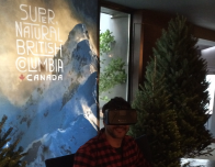 Author tries Oculus Rift headsets for VR view of British Columbia.