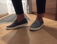 Olukai Pehua shoes worn by Maria Urbaez, photo c. Maria Urbaez