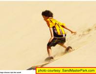 Sandmaster Park sand board park, Florence, Oregon