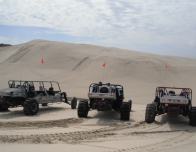Sand Rail Tours ATVs and small jeeps.