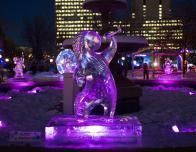 Ice sculpture is a highlight of Winterlude; this Alexey Andreev work won 2nd place in 2015.
