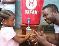 Washing Hands in Sierra Leone