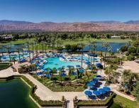 Bird's eye view of the Marriott Desert Springs Resort & Spa, Palm Desert