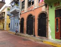 Casco Viejo neighborhood of Panama City.