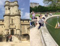 Chateau Vincennes and the Tuileries Gardens