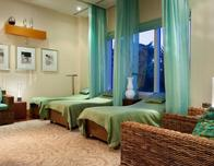 Relaxation rooms at SiSpa, Palm Beach Marriott Singer Island Resort.
