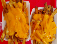 potato patch fries with cheese
