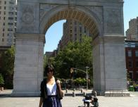 Me at Union Square Park in Greenwich Village
