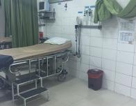 The emergency room in Bolivia.