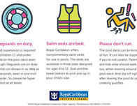 Pool Safety Signs For Royal Caribbean Ships