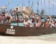 Canoes Return, Photo Courtesy of Xcaret