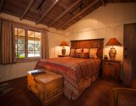 Guest room at Holman Ranch, photo by Scott Campbell