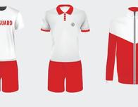 Lifeguard uniforms on Royal Caribbean ships