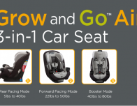 Go and Grow Air Carseat from Safety 1st