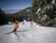 Ski Santa Fe slopes.