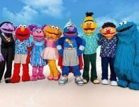 Sesame Street Gang at Beaches Ocho Rios, Jamaica