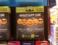 Variety of WhatsApp SIM cards for sale