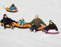 Snowtubing at Mohonk Mountain House