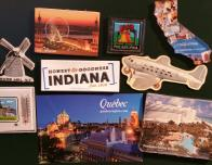 souvenir travel magnets