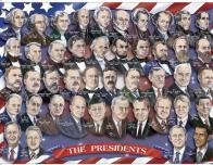 puzzle of the U.S. presidents faces