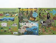 Stickyscapes Tropical Adventures book