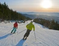 Long Days of Sun for Spring Skiers in Vermont