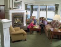 Family at home in a Stoweflake Townhouse