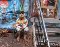 Imaginative Street Art pervades the city of Berlin.