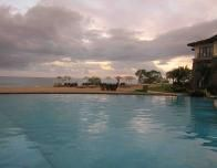Sunset View from the Pool at JW Marriott in Guanacaste
