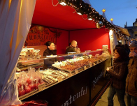 Christmas markets in Sweden feature favorite sweets and traditional desserts.