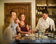 Tasting room at Holman Ranch Vineyard, photo by Scott Campbell