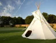 Kids Enjoy Teepee Tea Parties at The Grove, England