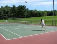 Tennis Court at Sunny Hill Resort