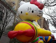 Hello Kitty at the Thanksgiving Day Parade, New York City
