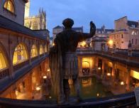 Torchlit Great Bath