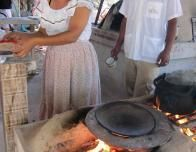 Tortilla Preparations in Guanacaste, Costa Rica