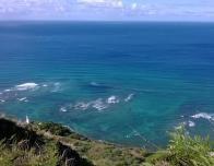 Diamond Head Summit - Waves Crashing Against the Shore