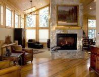 Mountain home living room at Sundance Resort, Utah