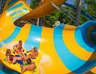 Colossal Curl is a favorite family ride at Water Country USA.