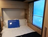 Quantum of the Seas' virtual balcony interior stateroom.