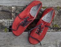 Waldlaufer Dana red shoes